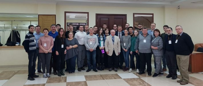 Our team took part in the XXIII International Youth Scientific School «Coherent Optics and Optical Spectroscopy» in Kazan