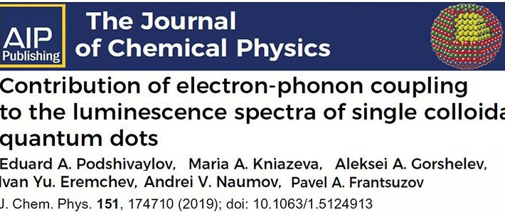 The new research paper has been published in the Journal of Chemical Physics[J. Chem. Phys. 151, 174710 (2019)]